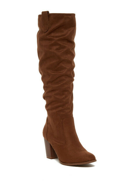 Kenneth Cole Reaction Lady Sway Tall Boot (1500) Brown Size 10M