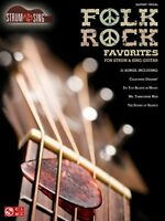 Folk Rock Favorites Sheet Music Strum & Sing Series Easy Guitar Book N 002501669