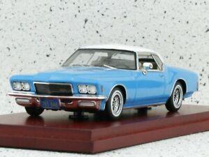 BUICK Riviera - 1971 - blue / white - True Scale 1:43
