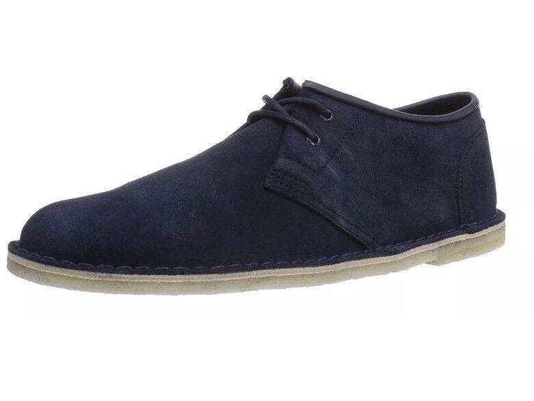 Clarks Originals Jink, Mens Derbys bluee (Navy Suede) 7.5G