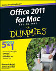 Office 2011 for Mac All-in-One For Dummies by Geetesh Bajaj, James Gordon (Paperback, 2011)