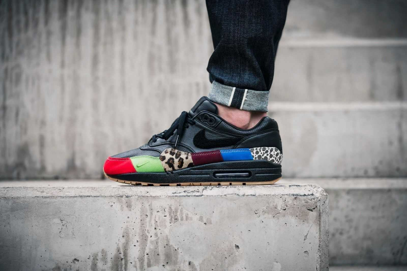 info for fdeb5 f6380 Nike Nike Nike Air Max 1 Master Of Air 910772-001 efe6fc