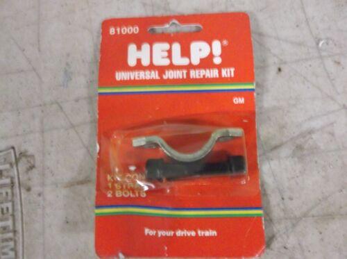 U Joint Yoke Strap Kit HELP 81000 Fits 1967-up Gm Camaro Firebird 442