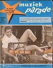 MUZIEK PARADE 72/63 CHUBBY CHECKER JOHNNY HALLYDAY