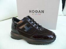 HOGAN by Tod´s Tods Gr 30 Schnürschuhe Sneakers Schuhe braun  NEU UVP 149 €