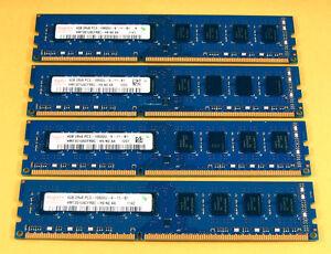 Hynix-16GB-4x4GB-PC3-10600-DDR3-Dell-Optiplex-790-780-580-990-980-Memory-Quad