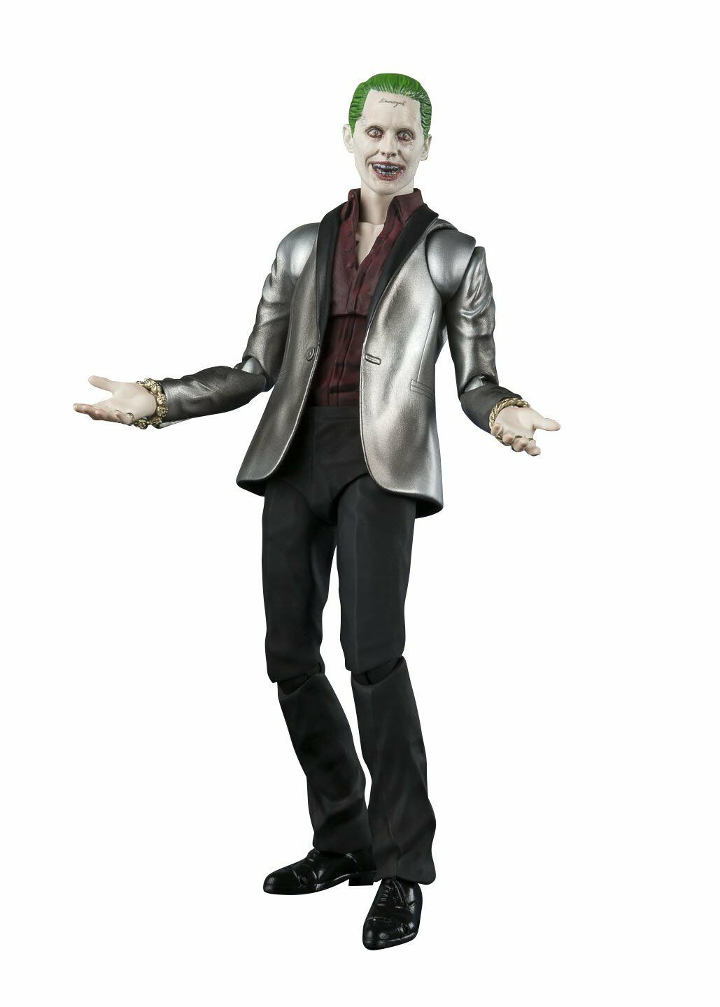 Bandai Tamashii Nations S.H. Figuarts The Joker Suicide Suicide Suicide Squad Action Figure dd778d