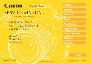 Analytique Canon Eos400d Full Colour Service & Pièces Manuel Inc Circuit Schémas Pdf-afficher Le Titre D'origine Soulager Le Rhumatisme