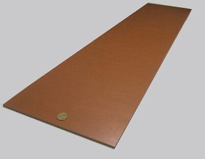 "Garolite Micarta Paper Phenolic XX Grade Sheet  .250/"" x 12/"" x 12/"" 2 Unit 1//4/"""