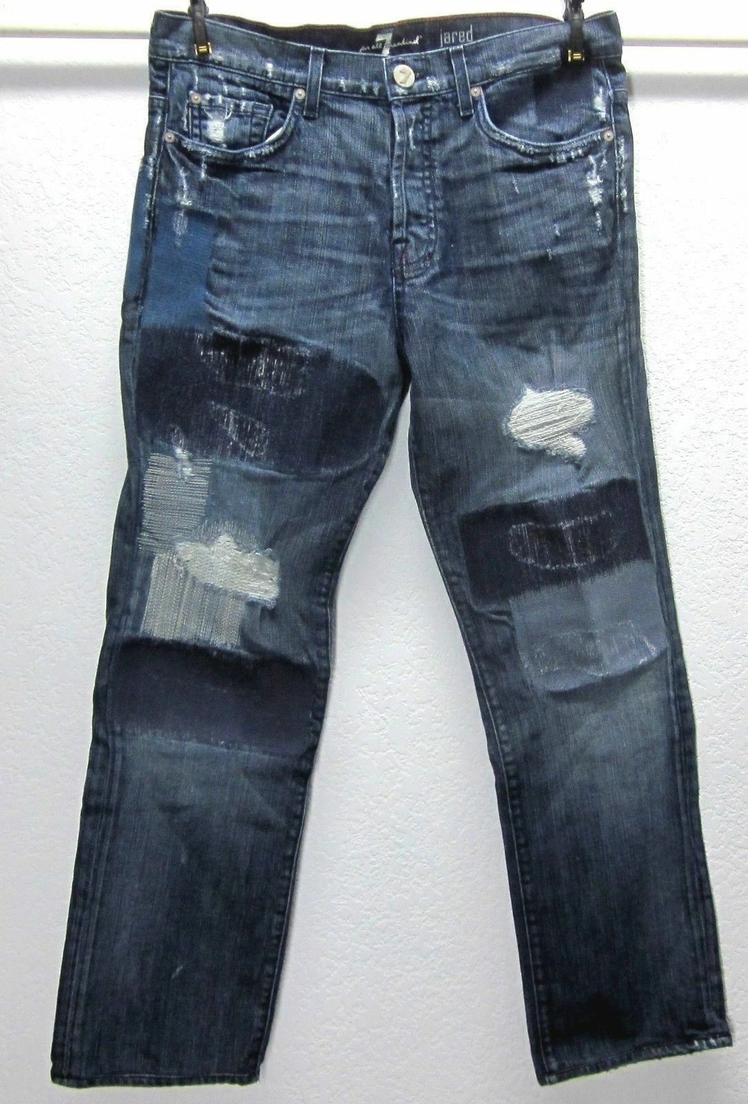 7 For All Mankind JARED Men's Limited Edition  32x30 bluee Jeans  777 EUC