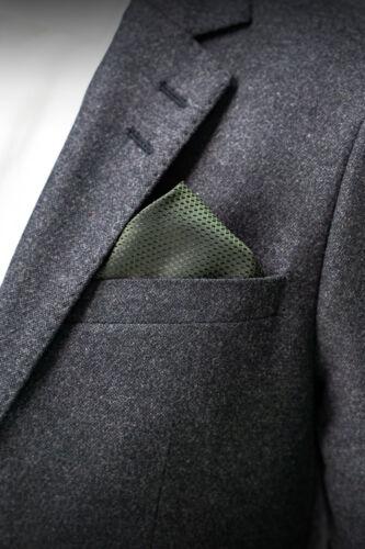 18 € DIGEL Einstecktuch Gabor Business Designer Premium Herren grün NEU