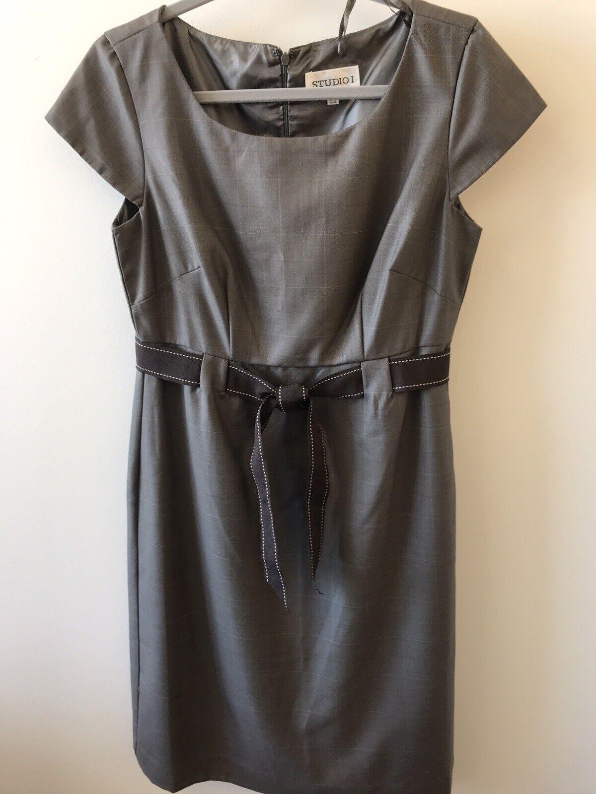 Studio 1 One New York - Women's Cap Sleeve Dress Size 8