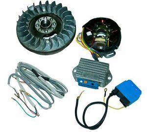 Flywheel Electronic Ignition Conversion Kit 12 Volt GP DL Small Cone Lambretta
