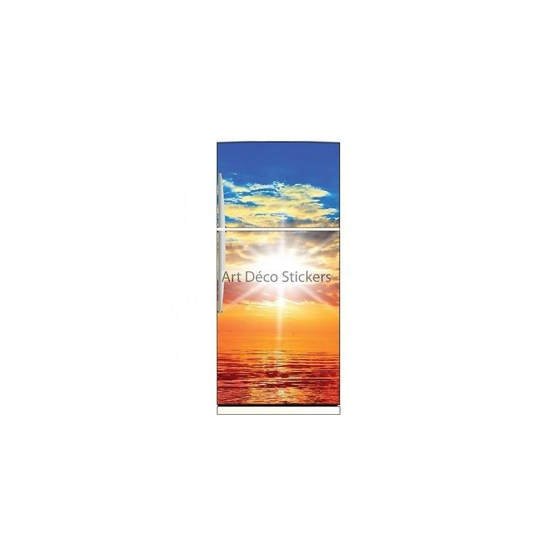Magnet frigo Coucher de soleil soleil de réf 6203 6203- Art déco stickers 907df0