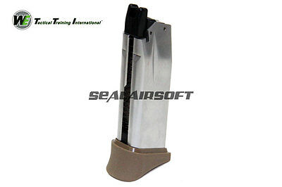 WE 18rds Airsoft Toy Gas Magazine For XDM COMPACT 3.8 Series GBB Black 038