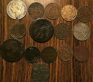 LOT-OF-15-FOREING-AND-CANADA-COINS-LOT-OF-15-COINS