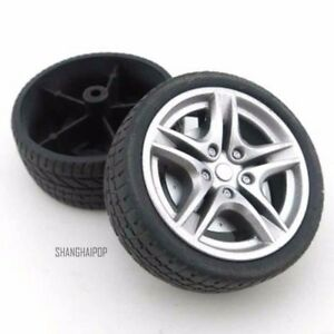 4-X-1-10-Model-Car-Tyre-Tire-RC-Buggy-Wheel-Front-Rear-DIY-On-Off-Road-40-48mm