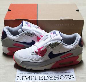 nike air max 90 blanco y rosa