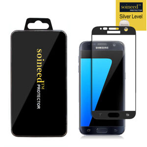 SOINEED-Samsung-Galaxy-S7-FULL-COVER-Tempered-Glass-Screen-Protector-BLACK