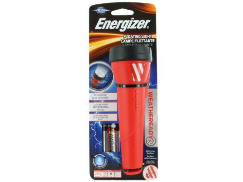 35h 55 Lumens ENERGIZER Weatheready Floating LED Light Waterproof Flashlight