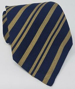 Cravatta-E-Marinella-Napoli-100-pura-seta-tie-silk-original-vintage-made-italy