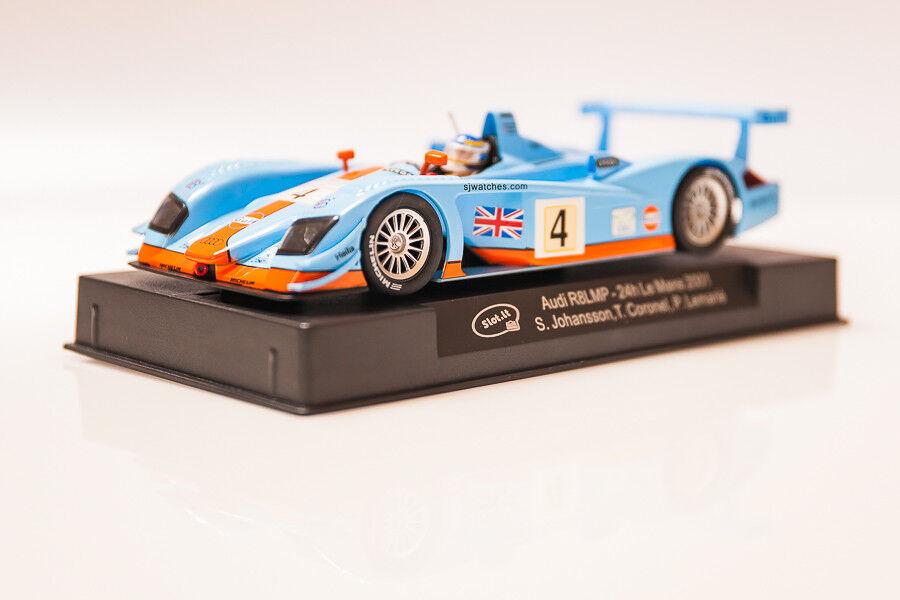Slot.It Audi R8 LMP Le Mans 2003    6, SICA33B Autorennbahn 1 32 Slotcar NEU OVP  | Sehen Sie die Welt aus der Perspektive des Kindes  01f083