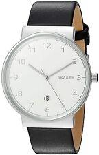 Skagen Original SKW6291 Men's Ancher Black Leather Watch 40mm