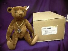 "Steiff mohair Teddy Bear ~ ""NANDO"" ~ 30cm mint condition LE 243 / 1500 RUST"