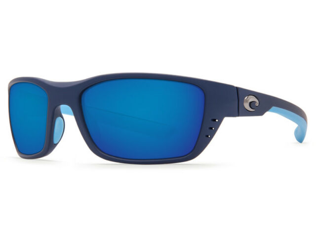 02d1287004 Costa Del Mar Whitetip WTP 123 Matte Heron Sunglasses Blue 580p for ...