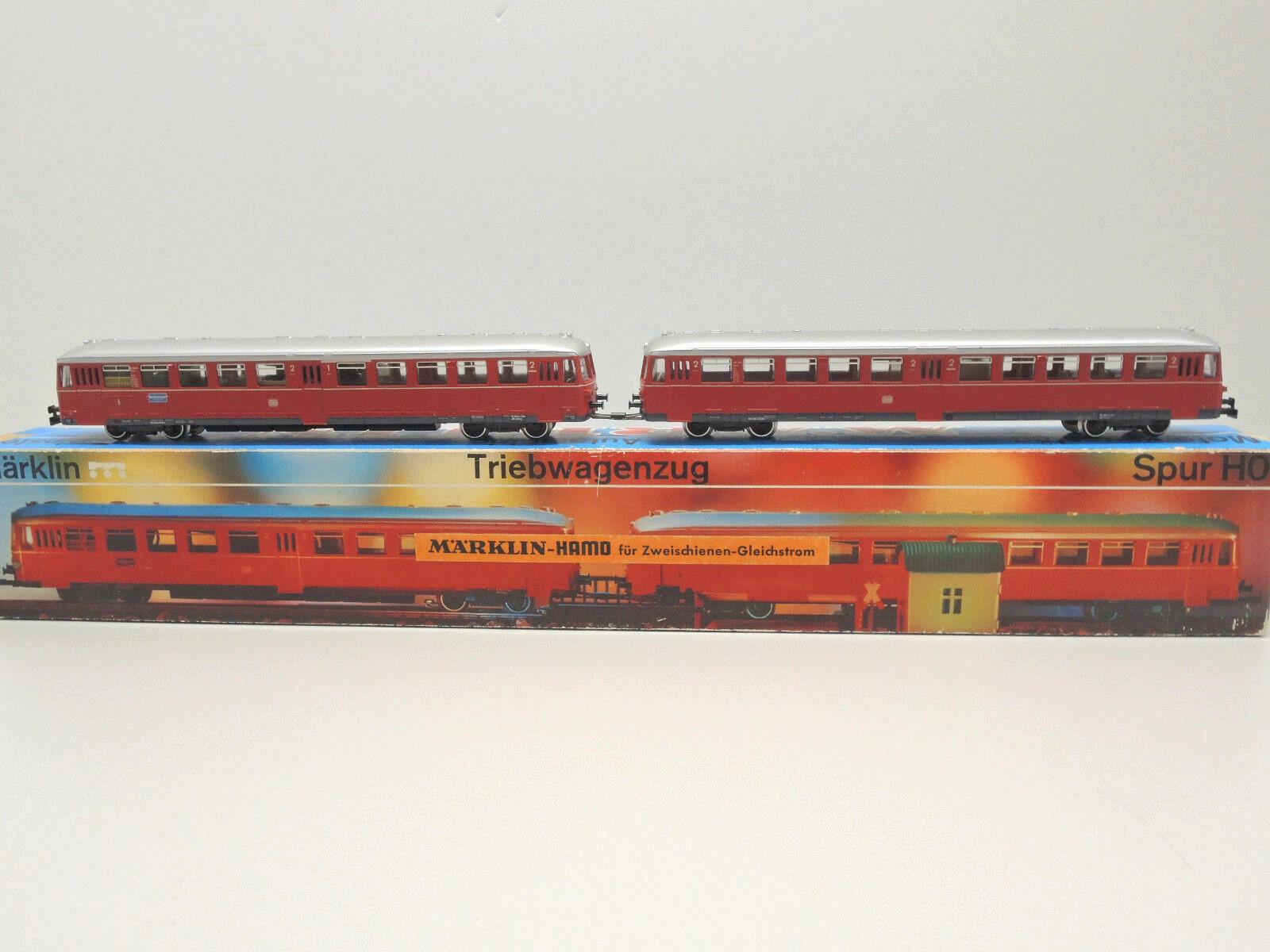 HAMO 8376 DC, triebwagenzug della DB, 1./2. classe, + 2. classe, OVP