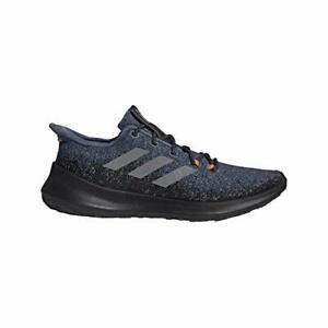 Adidas-Men-039-s-Shoes-Sensebounce-Canvas-Low-Top-Pull-On-Running-Red-Size-9-0-P