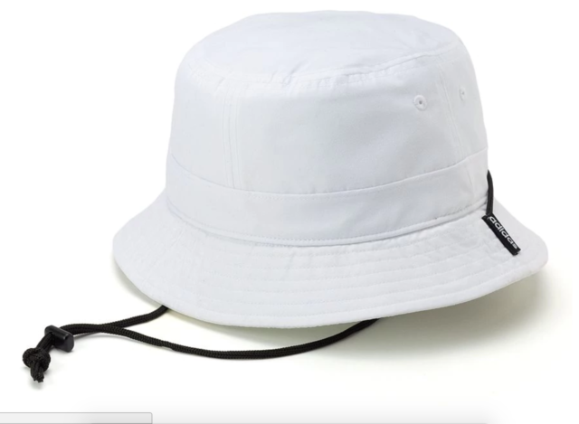 06829a3960ce71 adidas 5136277 Men's Generation Bucket Hat White Cap Safari Fishing ...