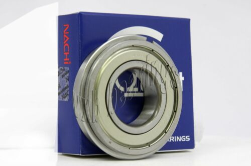 6310ZZENR Nachi C3 Snap Ring 50x110x27 50mm//110mm//27mm 6310Z Japan Ball Bearings