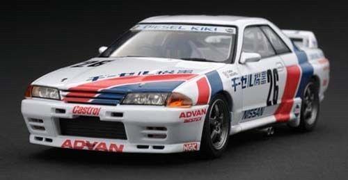 marca de lujo 1 NISSAN SKYLINE DIESEL KIKI GT-R GT-R GT-R 1990 26 1 43 HPI RAC.