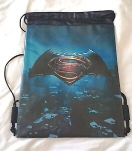 daa3d35f591 Image is loading Dark-Batman-V-Superman-Drawstring-Backpack-Dawn-Of-