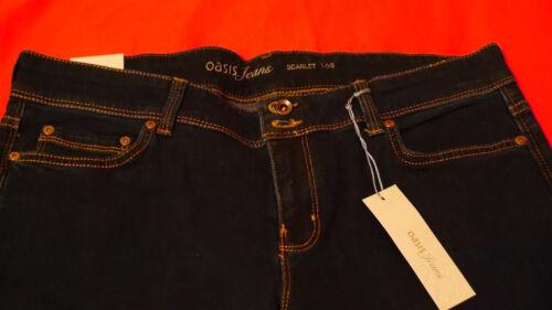16s Women Size Oasis Dark Blue Trousers 4rqqzYxW0