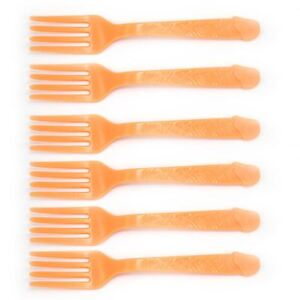 New 18 Pc Bachelorette Party Willy Silverware