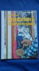 Vintage-1978-Do-It-Yourself-INSULATION-amp-WEATHERSTRIPPING-Energy-Saving-DIY