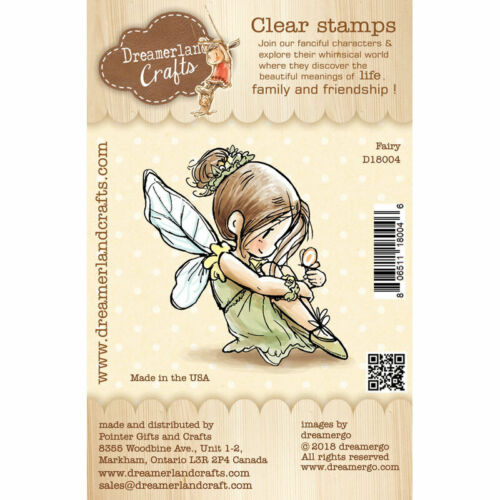 """Stempel /""""Fairy/"""" Dreamerland Crafts Fee Elfe Clear Stamp"""