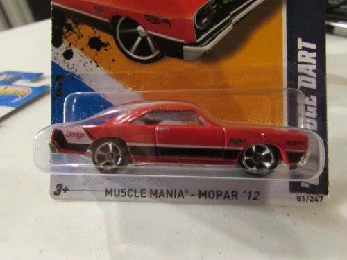 Hot Wheels /'68 Dodge Dart Muscle Mania Red