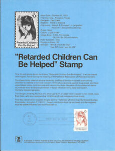 1549-Retarded-Children-Can-Be-Helped-Stamp-Poster-Unofficial-Souv-Pg-Flat-HC