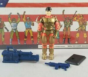 Original-1993-GI-JOE-BARRICADE-V2-ARAH-not-complete-UNBROKEN-figure-Cobra