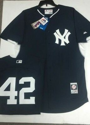 timeless design 8481a 35f09 MARIANO RIVERA Yankees Majestic Men's Authentic Batting Practice Jersey 44  LARGE | eBay