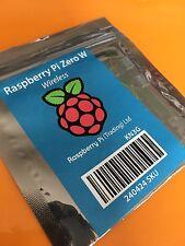 NEW WIRELESS Raspberry Pi Zero W, with WiFi and BLUETOOTH !!!