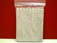 Set Of 54 Tan- Heavy Duty Felt Pads Strips 5-7/8 X 1/2 Self Stick Adhesive