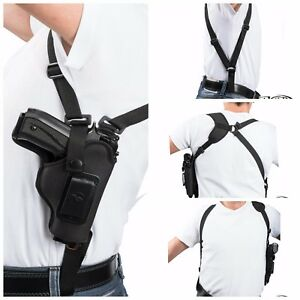 Details about Vertical Carry Shoulder Holster for Ruger LCP & II