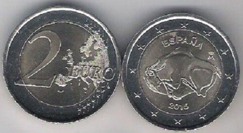 Spain Roll 25 coins 2 euro 2015 Altamira Spanien Rolle Spagna Bimetal UNC