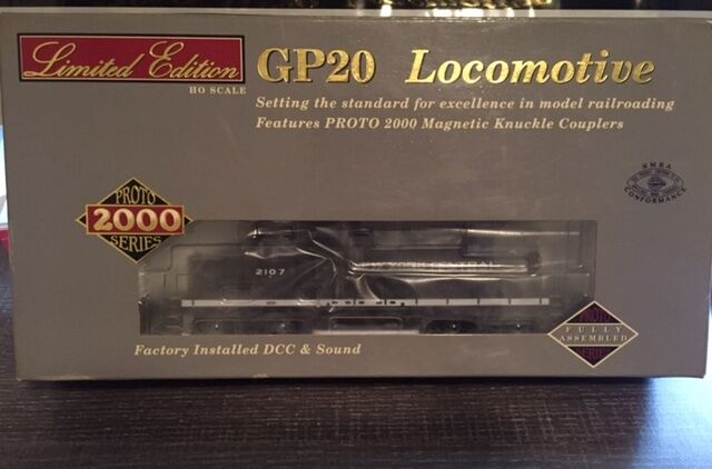 Proto 2000 Nuovo York Central Road  2107 GP20  Item  31502 Sound & DCC HO Scale