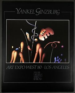 1980 Art Expo West Los Dashing Yankel Ginzburg