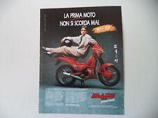 advertising Pubblicità 1990 MALAGUTI FIFTY TOP 50